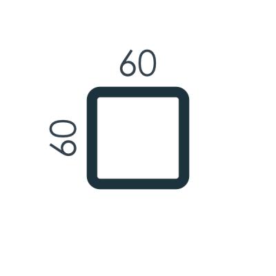 Słupy 60x60