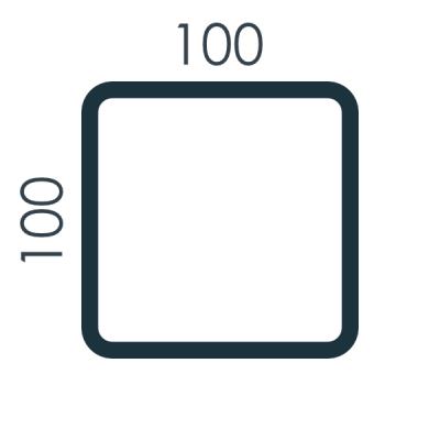 Słupy 100x100